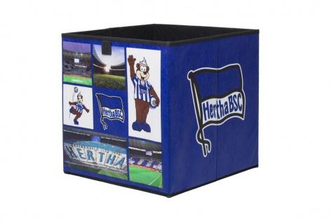 Faltbox Box - Hertha BSC / Nr.1 - 32 x 32 cm