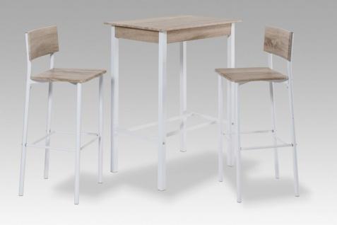 Bartisch Tisch Set - CASSINO - 1 x Bartisch und 2x Barhocker