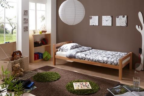 Tagesbett-Bett SALIN Buche Massiv Natur Lackiert 90x200 cm