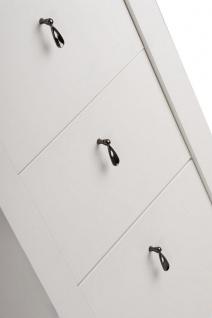Badmöbel Set 4-tlg ELIZA Massivholz Weiss inkl.Waschtisch 80 cm - Vorschau 2