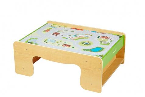Holzspielzeug - Eisenbahn Tisch
