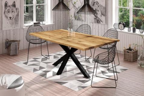 Esstisch Tisch FREYA Wildeiche geölt 160x90 cm