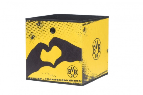 Faltbox Box - BVB 09 / Nr.2 - 32 x 32 cm