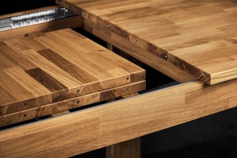 Esstisch Tisch ausziehbar MAISON Kernbuche massiv geölt 200/290x100 cm - Vorschau 4