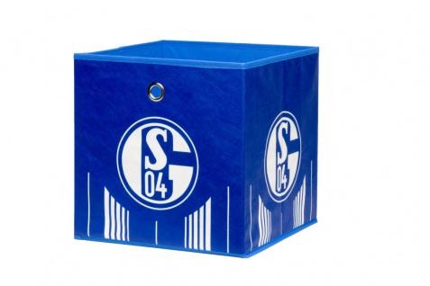 Faltbox Box - FC Schalke / Nr.2 - 32 x 32 cm