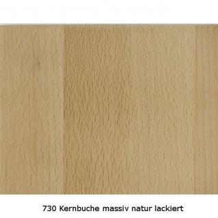 Couchtisch Tisch MALTE Buche vollmassiv / Echtholz 80 x 80 cm - Vorschau 4