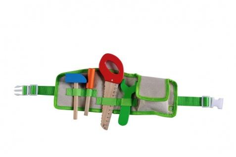 Holzspielzeug - Werkzeuggürtel