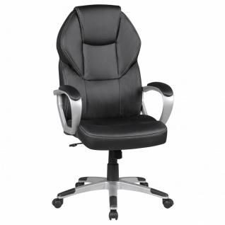 Drehstuhl Bürostuhl Chefsessel TAMPA -Schwarz