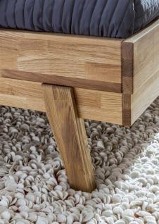 Massivholzbett Schlafzimmerbett - VIA - Bett Wildeiche 180x200 cm - Vorschau 2