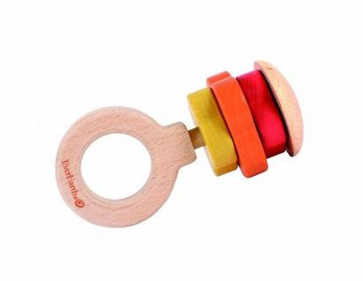 Holzspielzeug - Rassel Ring