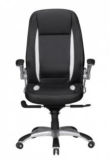 Drehstuhl Bürostuhl Chefsessel BUFFALO -Schwarz - Vorschau 2