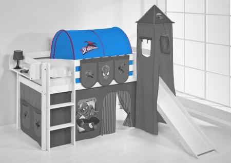 Tunnel Spiderman - für Hochbett. Spielbett und Etagenbett