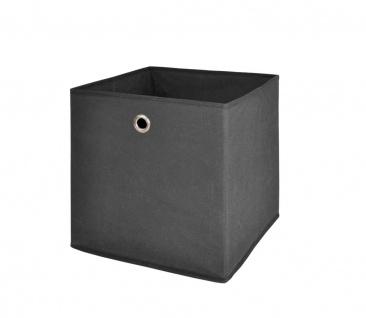Faltbox Box Fotobox- Delta 1- Anthrazit Größe: 32 x 32 cm / 3er Set