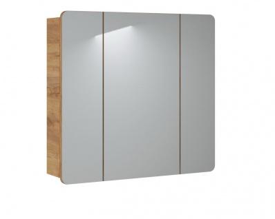 Badezimmer Spiegelschrank FERMO 80 cm