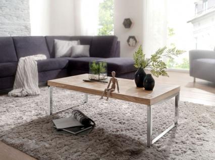 Couchtisch Massivholztisch NUKA 120x60x40 cm Holz Akazie