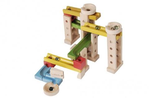 Holzspielzeug - Murmelbahn