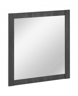 Badezimmer Spiegel 80x80cm KLASSIK Antik Grau