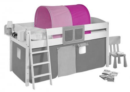 Tunnel Pink Rosa - für Hochbett, Spielbett und Etagenbett
