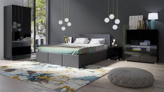 hochglanz grau schlafzimmer günstig online kaufen - Yatego