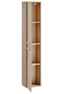 Badmöbel 3-tlg Badezimmerset WENDO Eiche inkl.Waschtisch 60cm - Vorschau 5