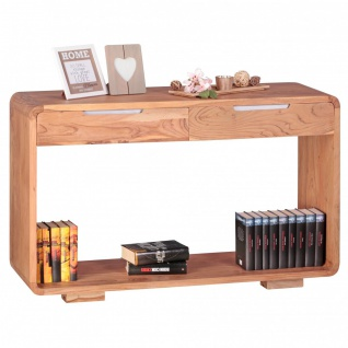 Konsolentisch Schreibtisch BUANA 119x40x76 cm Massivholz Akazie