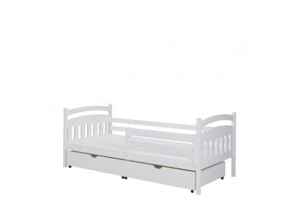 Funktionsbett Tagesbett GAJUS Kiefer Massiv 160x80cm Komplettset