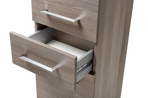 Badmöbel Set 6-tlg Badezimmerset COSM Avola inkl.Waschtisch 120 cm - Vorschau 3
