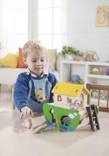 Holzspielzeug - Arche Noah zum Sortieren und Stecken - Vorschau 4