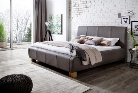 Polsterbett Bett Doppelbett Tagesbett - MODENA- 180x200 cm Taupe