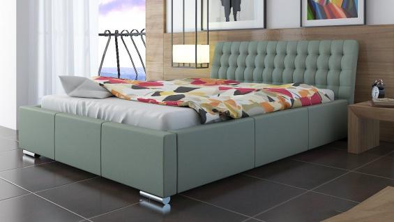 Polsterbett Bett Doppelbett DIVO 160x200cm inkl.Bettkasten