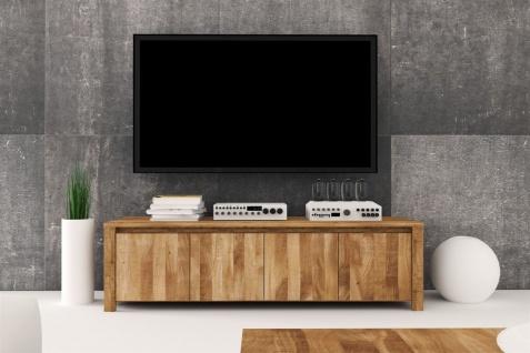 Lowboard TV-Schrank MAISON Kernbuche massiv geölt 150x43x45 cm