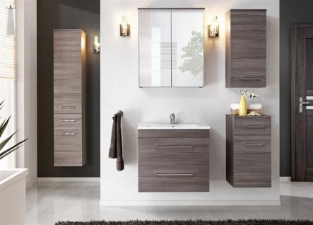 Badmöbel Set 6-tlg Badezimmerset COSM Avola inkl.Waschtisch 60 cm