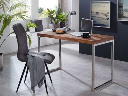 Schreibtisch Computertisch Bürotisch NUKA 120x60x76 cm Holz Sheesham