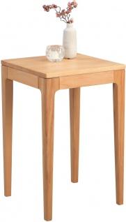 Beistelltisch Tisch TINO 38x38 cm Kernbuche Massiv geölt