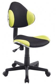 Drehstuhl Bürostuhl Stuhl - Nr 25 - Schwarz-Gelb