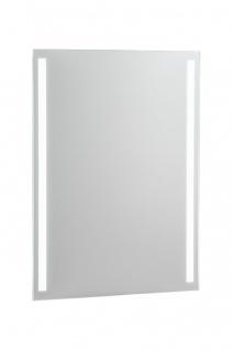 Badmöbel Set 6-tlg Badezimmerset FERMO Weiss HGL inkl. Waschtisch 40cm - Vorschau 4