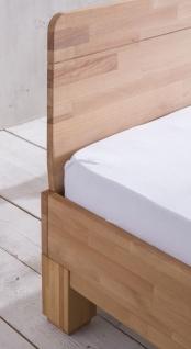 Massivholzbett Schlafzimmerbett - IVO - Bett Kernbuche 160x200 cm - Vorschau 5