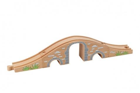 Holzspielzeug - Eisenbahnbrücke - Vorschau 1