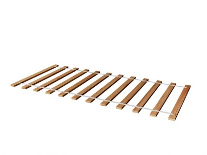 Rollrost Lattenrost Rolllattenrost 100 x 200 cm / 200 Stk Massivholz