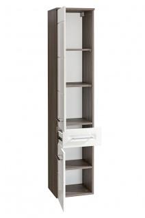 Badmöbel Set 6-tlg Badezimmerset COSM Hochglanz inkl.Waschtisch 60 cm - Vorschau 5