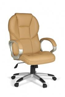 Drehstuhl Bürostuhl Chefsessel FERROL -Caramel