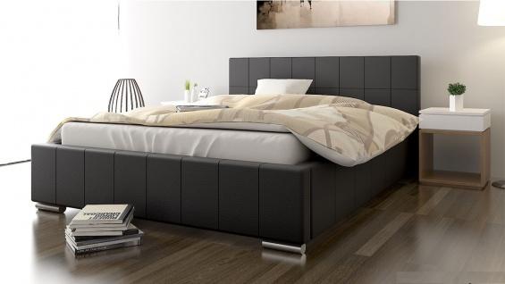 Polsterbett Bett Doppelbett GIORGIO 160x200cm inkl.Bettkasten