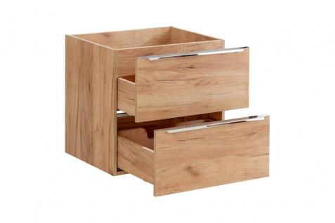 Badmöbel Set 6-tlg Badezimmerset PERUGIA Gold Eiche Set.2 - Vorschau 5