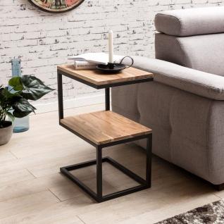 Beistelltisch Tisch URBAN 45x30 cm Akazie Massivholz