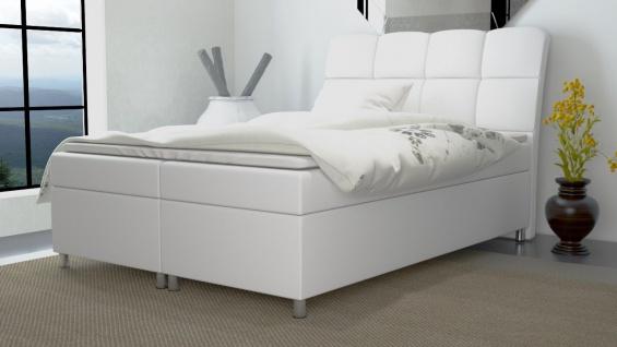 Boxspringbett Schlafzimmerbett MINO 160x200cm inkl.Bettkasten