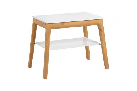 Badmöbel Set 3-tlg Badezimmerset SORBI Eiche massiv + Waschtisch 50cm - Vorschau 4