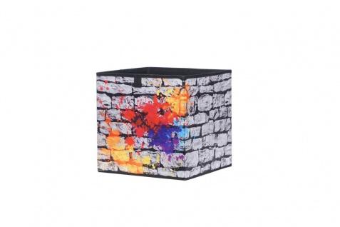 Faltbox Box - Delta -32 x 32 cm / 3er Set - Graffiti