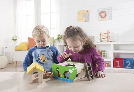 Holzspielzeug - Arche Noah zum Sortieren und Stecken - Vorschau 2