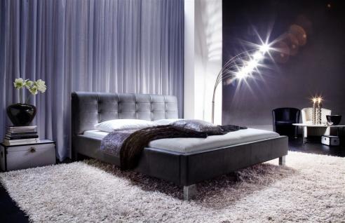 Polsterbett Bett Doppelbett Tagesbett - MAINE - 160x200 cm Schwarz