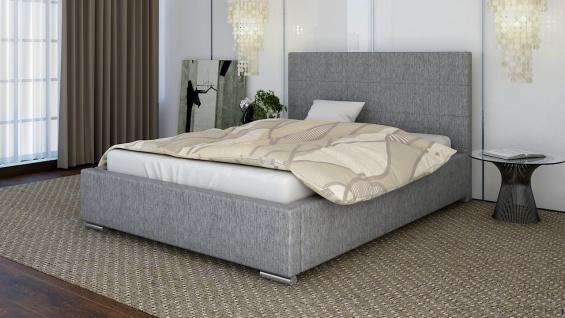 Polsterbett Bett Doppelbett GIORGIO L 140x200cm inkl.Lattenrost